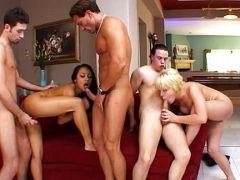 Erotischer Gruppensex
